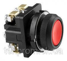 Кнопка КЕ 011 красная, черная, фото 2