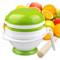 Gland Electronics YM-1 Набор для приготовления детского питания с ситом Зелёный