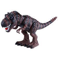 Реалистично Электрический Модель Тиранозавр Игрушка Животных Темно-коричневый