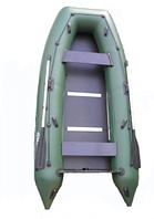 Представительная брендовая надувная моторная килевая лодка Омега 330К. Отличное качество. Доступно Код: КГ3096