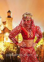 Ночная Восточная красавица Шахерезада красная