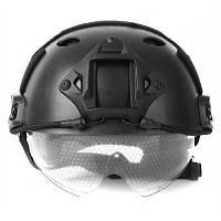 Легкий ударопрочный защитный шлем Чёрный