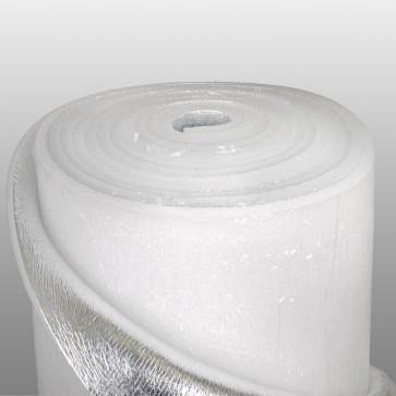 Фольгированный вспененный полиэтилен 10 мм с липким слоем