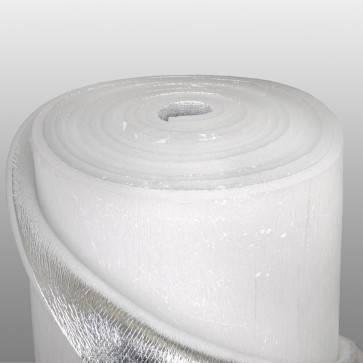 Фольгированный вспененный полиэтилен 10 мм с липким слоем, фото 2