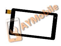 "Сенсор (тачскрин) 7"" Hometech Pro Tab 7 30 pin 186x104 mm black"
