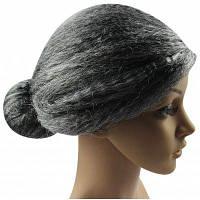 Женщины длинный серый парики косплей для бабушки Серый