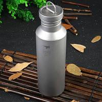 Keith Ti3032 700мл титановая спортивная бутылка для наружного применения Титан серый
