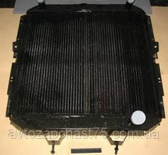 Радиатор Краз 256 4-х рядный, медный (производитель Шааз, Россия)
