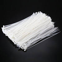 ELECALL ELE-4 x 200 400PCS самостоятельной блокировки нейлон кабель галстук Белый