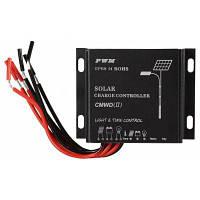 UEIUA CMWD-Регулятор 10A ip68 в 10А 12 / 24V Солнечной зарядки Чёрный