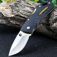 Sanrenmu БУЦ-РН 4059 черный замок карманный нож лезвие 5см Серебристый