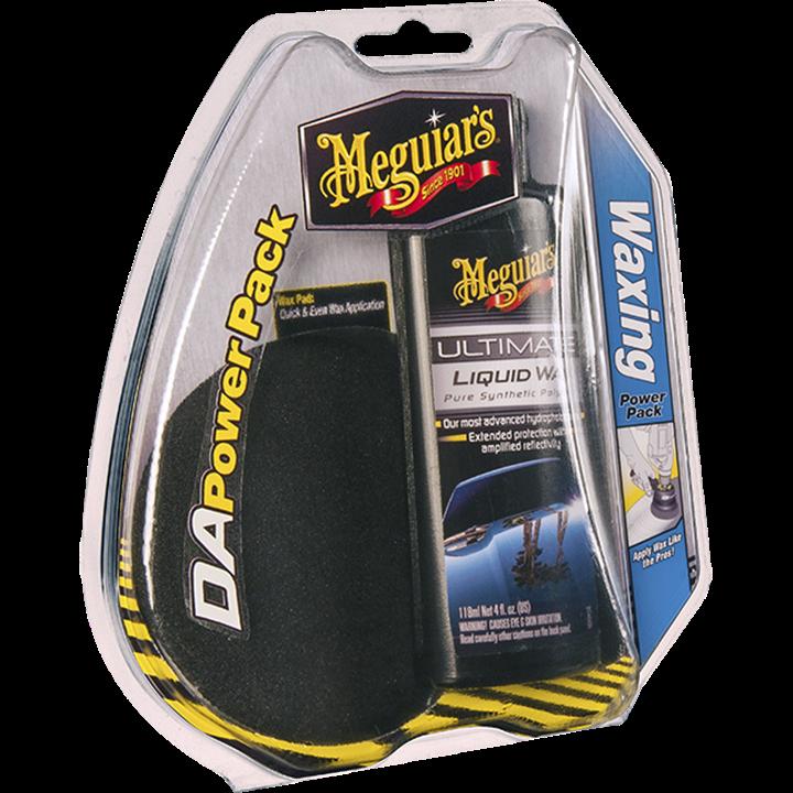 Набор для нанесения воска - Meguiar's DA Waxing Power Pack (G3503INT)