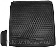 Пластиковый коврик в багажник Volkswagen Passat B7 2010-2015 седан (AVTO-GUMM)