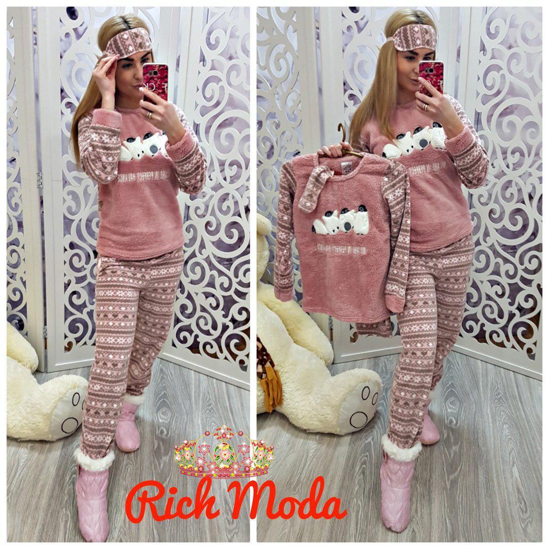 91078b9dd32f Женская тёплая пижама подросток - интернет магазин (Николь Шоппинг) в  Харькове