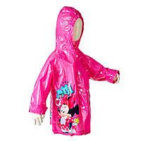 Детский плащ-дождевик Minnie Mouse (Минни Маус) для девочки 6 лет ТМ ARDITEX WD9752 малиновый, фото 1