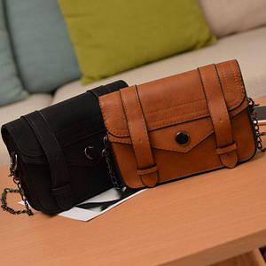 Женская мини сумка с цепочкой