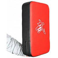 Искусственная кожа удар прямоугольник штамповки ногами площадку рука целевой щит красный+черный