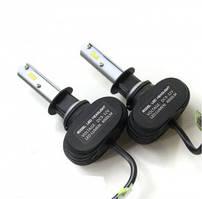 Лампа Автомобильная Светодиодная Galaxy Н1 (H1) LED CIP Светодиоды в фары комплект 2 шт