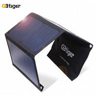 GBtiger 21ВТ панели двойной USB солнечная энергия зарядное устройство складывая мешок GBtiger 21Вт