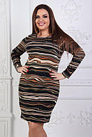Платье ангоровое р.52,54,56,58,60 мод.159-2