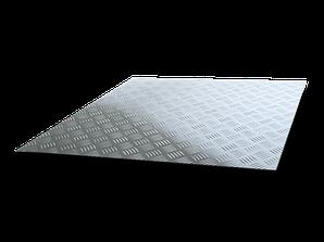 Лист алюмінієвий рифлений
