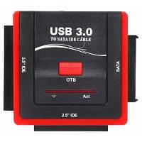 888U3IS USB 3.0 до 2.5 / 3.5 дюймовый IDE / SATA HDD адаптер Цветной