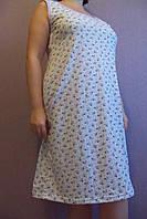 Женская ночная рубашка (бабушкина) фиалки