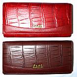 Женские кожаные кошельки на кнопке Fani, фото 2