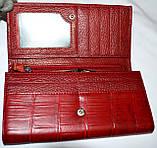 Женские кожаные кошельки на кнопке Fani, фото 3
