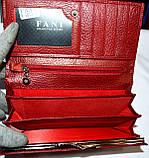 Женские кожаные кошельки на кнопке Fani, фото 4