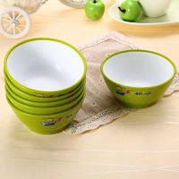 6шт. Мини мультяшная чаша столовая коробка для хранения еды Зелёный