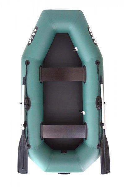 Малогабаритная двухместная гребная ПВХ лодка ARGO A-240. Отличное качество. Доступная цена. Дешево Код: КГ3101