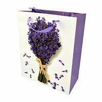 Подарочный бумажный пакет, оригинальня упаковка для подарка «Букет»