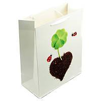"""Пакет подарочный """"Сердца"""" 4 вида"""