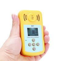 KXL-801 Ручной Тестер Сигнализатор утечки газа со звуком и вибро калибр 0-2000 ppm Жёлтый