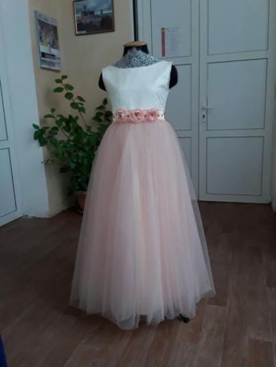 Дитяче плаття - Мережива Шантільї