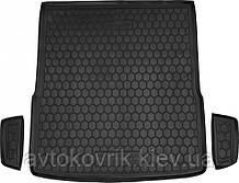 Пластиковый коврик в багажник Volkswagen Passat B7 2010-2015 универсал (AVTO-GUMM)