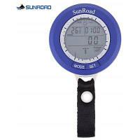 SR204 SUNROAD Многофункциональный цифровой Барометр Рыбалка Синий