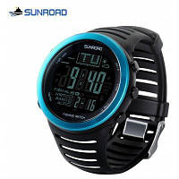 FR720 SUNROAD цифровой Рыбалка Барометр мужские часы Синий