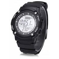 Унисекс FR719A цифровой Рыбалка Барометр часы Чёрный