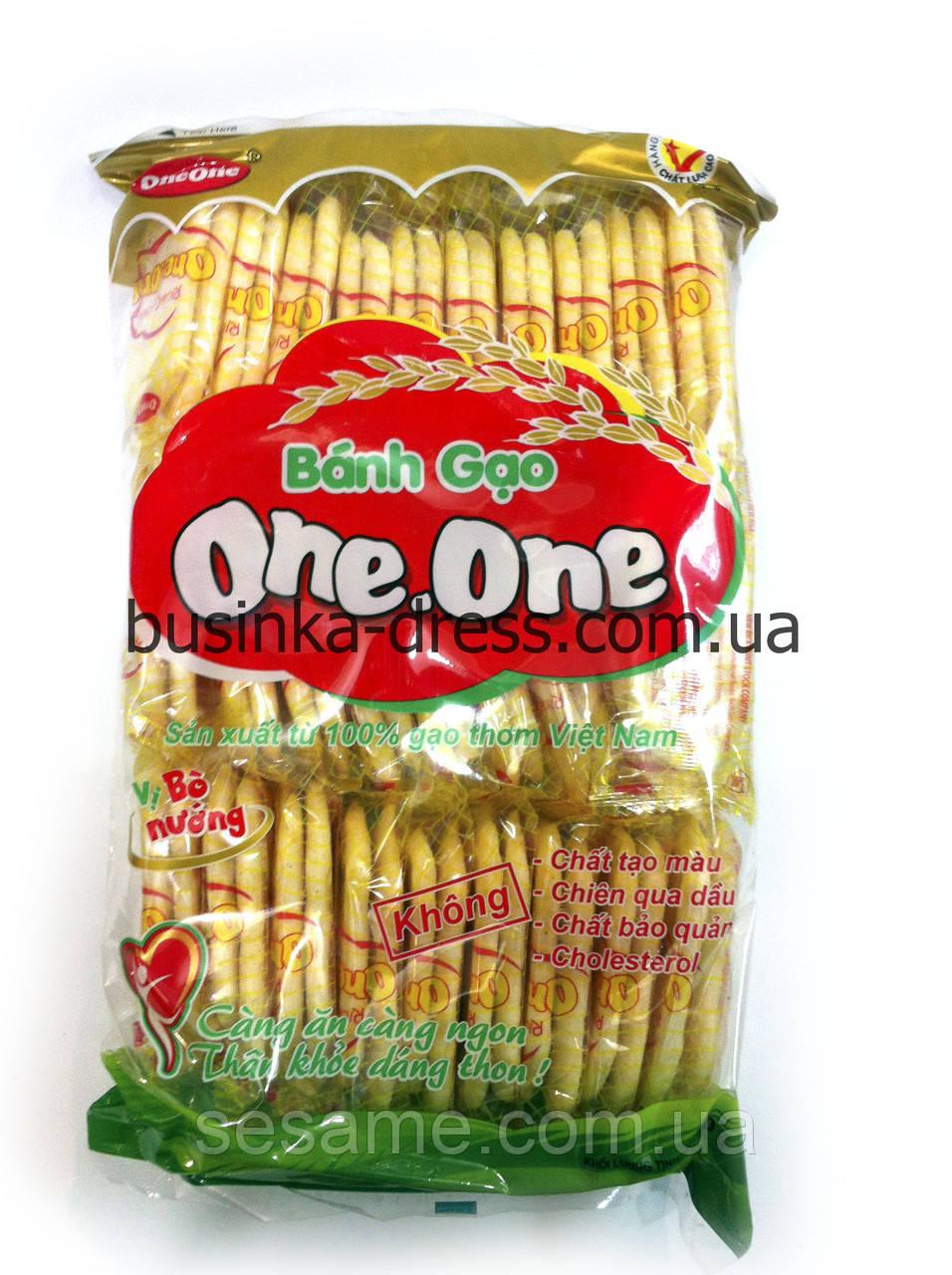 Рисовое печенье One-One (длинное), 150г. (Вьетнам)