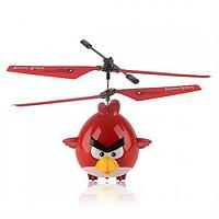 """Летающая игрушка """"Angry birds"""" красная"""