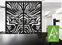 Ажурная перегородка для  офиса от  Армандо перегородка  сделана из  МДФ
