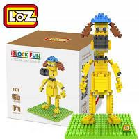 Лоз 190пк Л-9478 барашек Шон bitzer и строительный блок игрушки для укрепление социальной способности взаимодействия Жёлтый