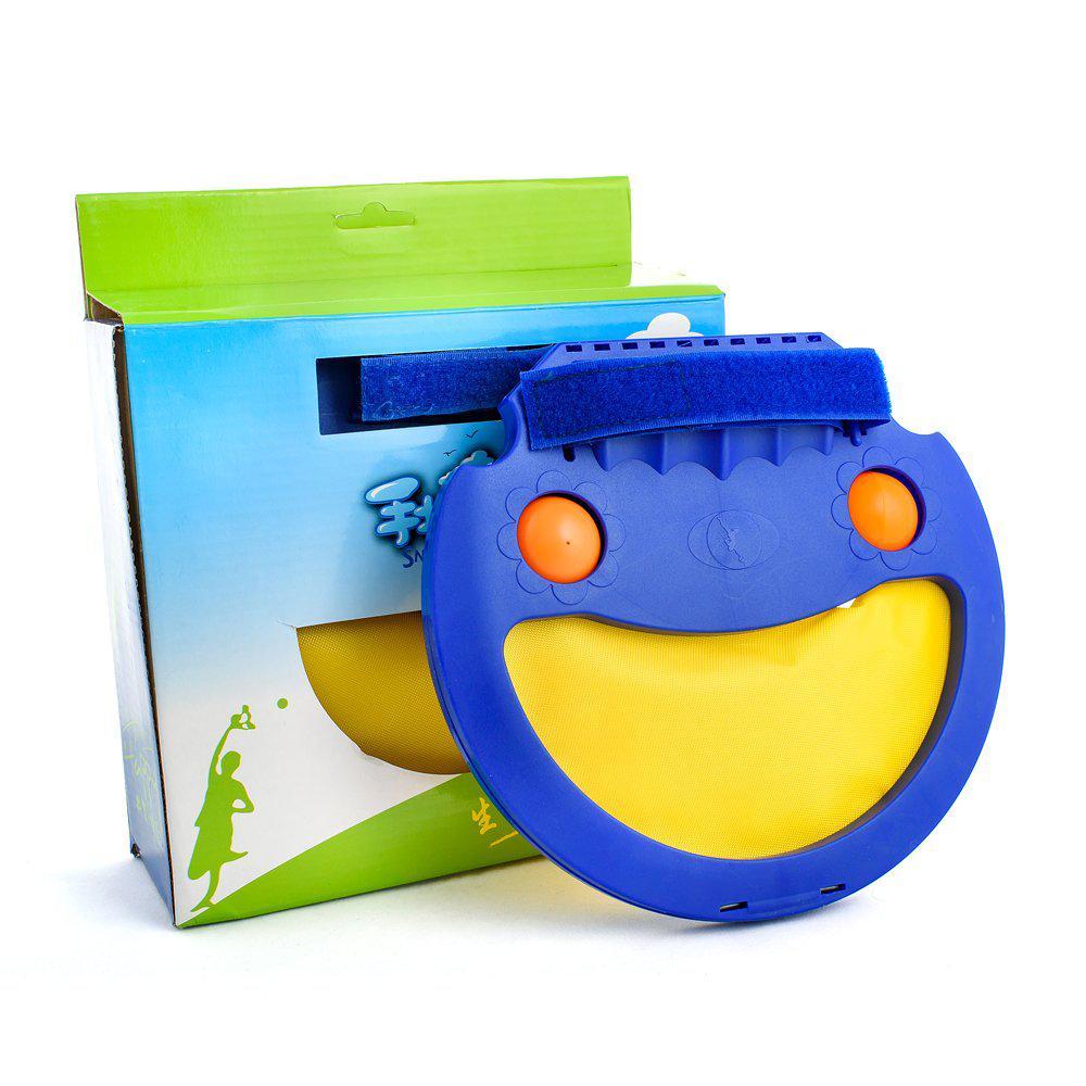 Игра для детей на улице, альтернатива бадминтону Snap&Catch синяя