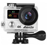 Amkov AMK-H3 4K спортивная экшн камера Серебристый Белый