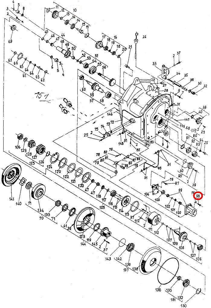 Болт I М6х30-5.6 БДС 1230-85 Балканкар ДВ1792
