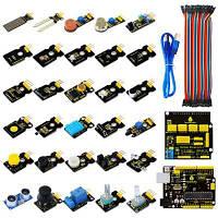 Keyestudio UNO плата управления и набор модульных датчиков для Arduino Stater DIY проекта Цветной