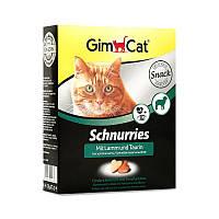 Сердечка GimCat для кішок з ягням, 650 шт. карток. уп.