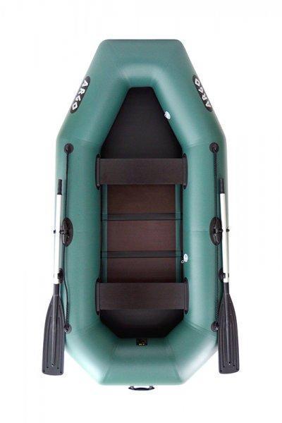 Эксплуатационная надувная двухместная гребная ПВХ лодка ARGO A-260. Отличное качество. Доступно. Код: КГ3103